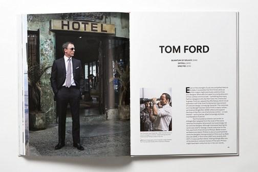 """Páginas dedicadas al diseñador Tom Ford en """"Fashion in Film""""."""
