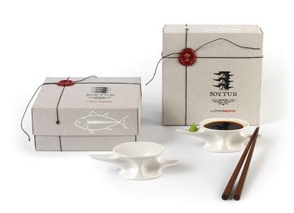 Soytun, piezas cerámicas para los amantes del sushi.