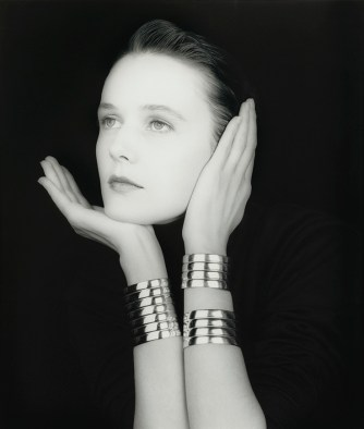 Lucy Ferry por Robert Mapplethorpe, 1989.