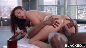 BLACKED When her boyfriend left she went straight for the BBC
