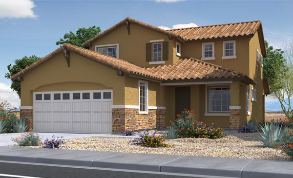 New Lennar Subdivision Under Construction In Foothills