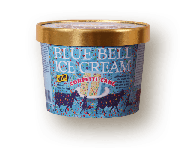 Confetti Cake Becomes Newest Flavor Of Ice Cream From Blue Bell The Daily Home Annistonstar Com