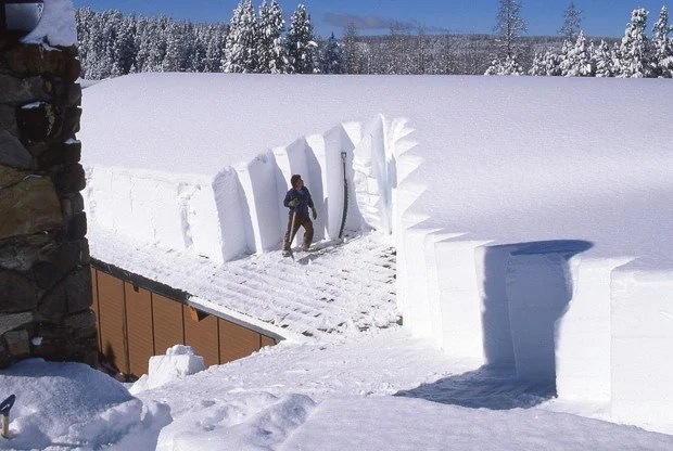 Image result for roof with snow