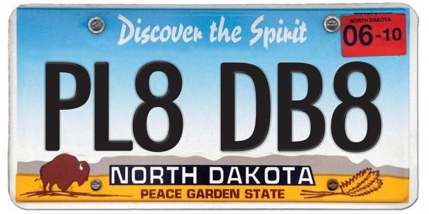 North Dakota License Plates 2017