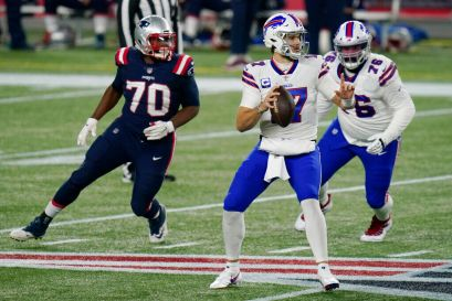 10 observations: Josh Allen, Stefon Diggs make it look laughably easy in rout of Patriots   Buffalo Bills News   NFL   buffalonews.com