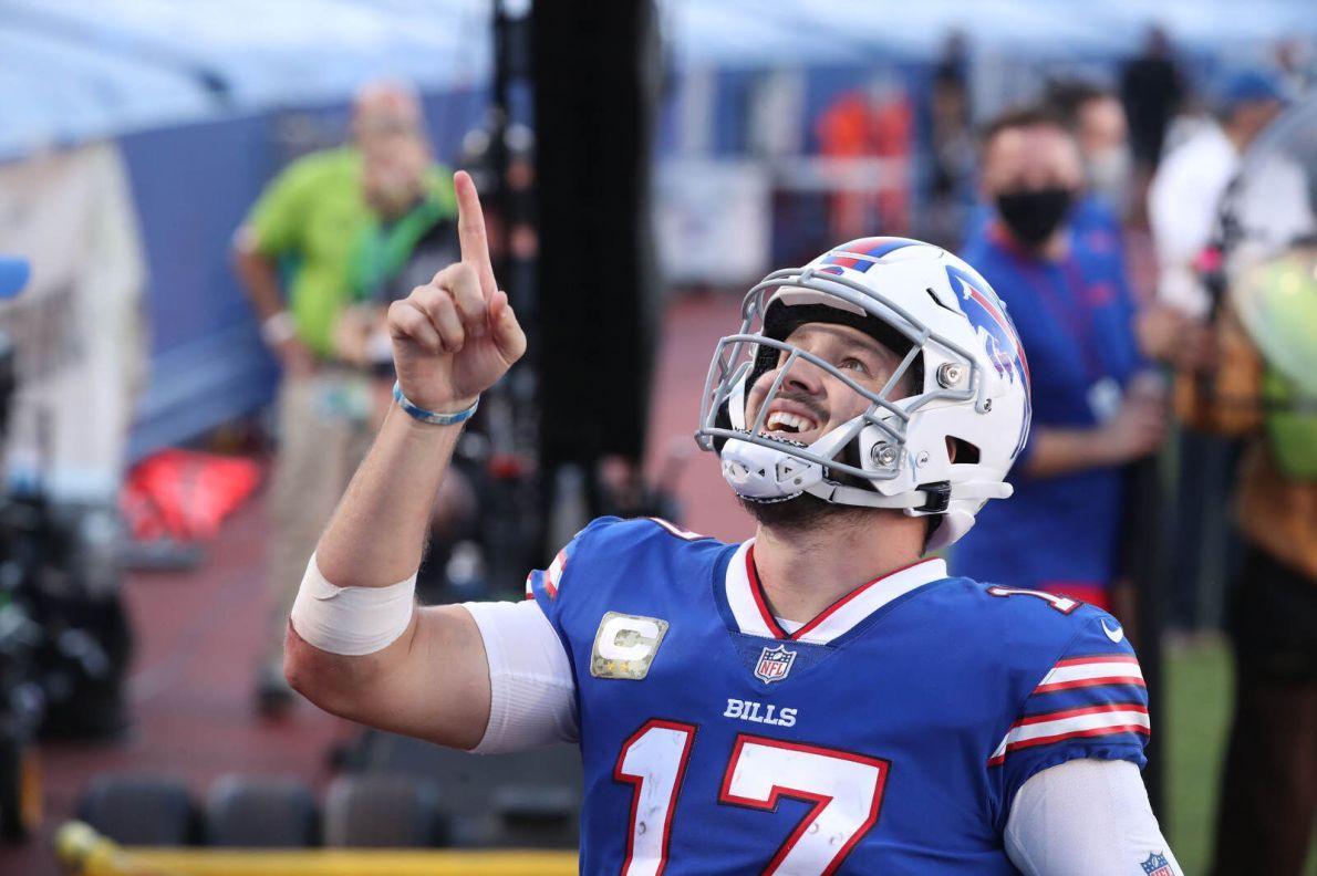 Josh Allen: Bills' fans support after grandmother's passing 'means the  world'   Buffalo Bills News   NFL   buffalonews.com