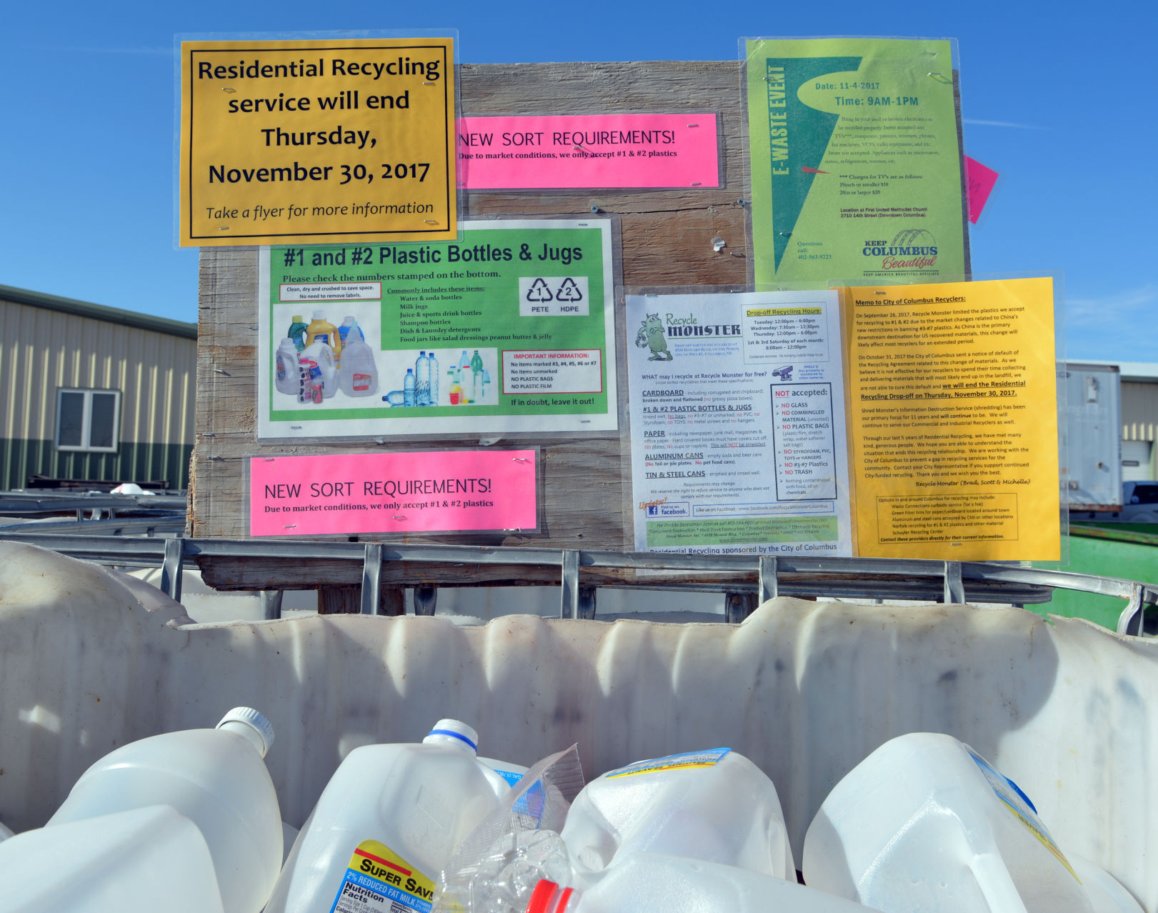 City open to all options for residential recycling   Local     Recycling