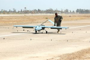 Shadow UAV supports 24 hour operations