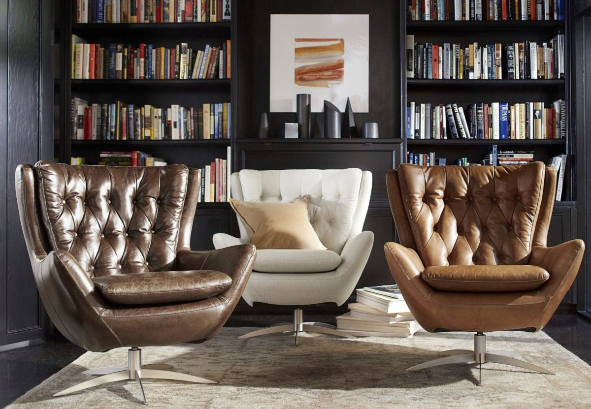 Traditional Wing Chairs With Modern Twist