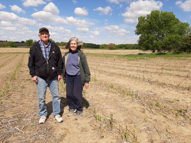 FRE Gordon and Susan in asparagus field.jpg