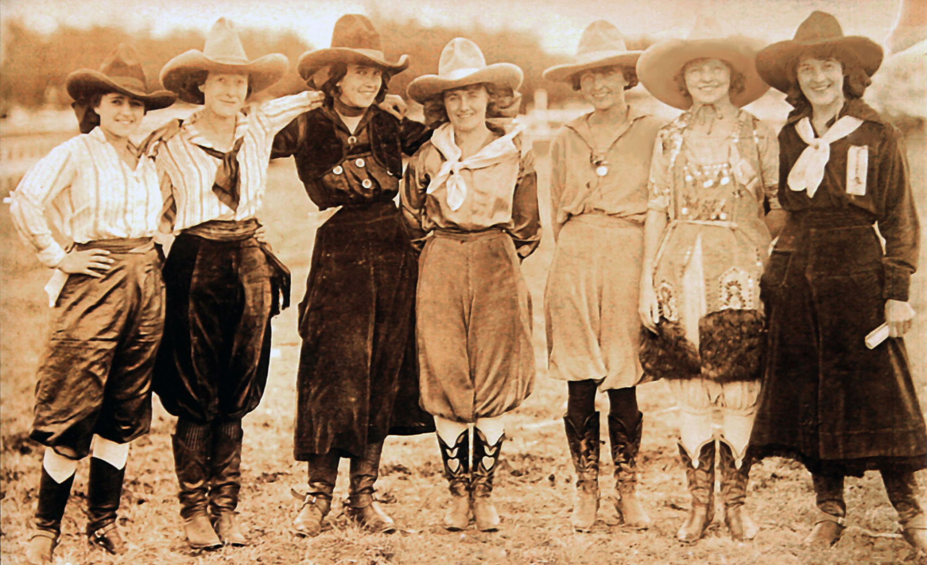 Cowgirls' glory days on exhibit