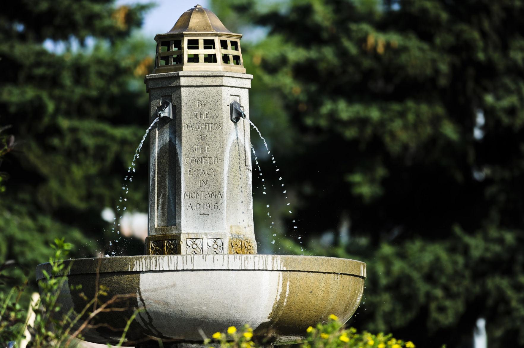 Confederate Fountain