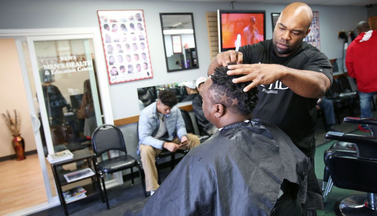 Barbershop Health Center Aims To Improve Health Of Madison