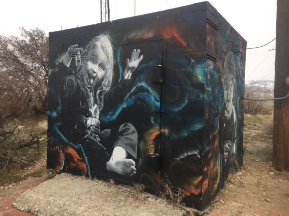 Sector Seventeen: Two artists, some spraypaint and a lot of talent ...