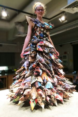 Recycled Runway Show Features Wearable Art In Conjunction