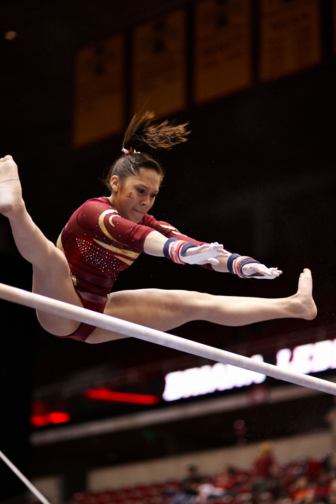 ISU Gymnastics Bounces Back In Win Against Centenary