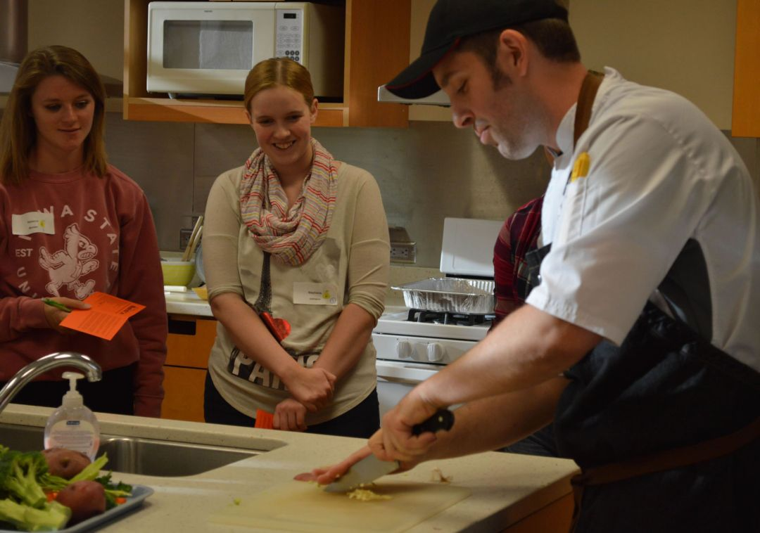 Food Science Department hosts first Culinary Boot Camp