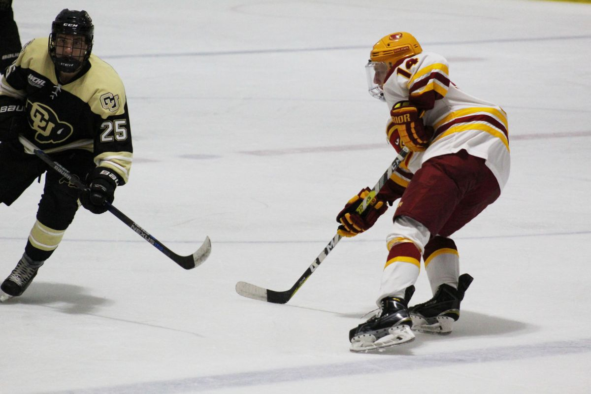 Cyclone Hockey Plagued By Penalties Downed By Illinois Hockey