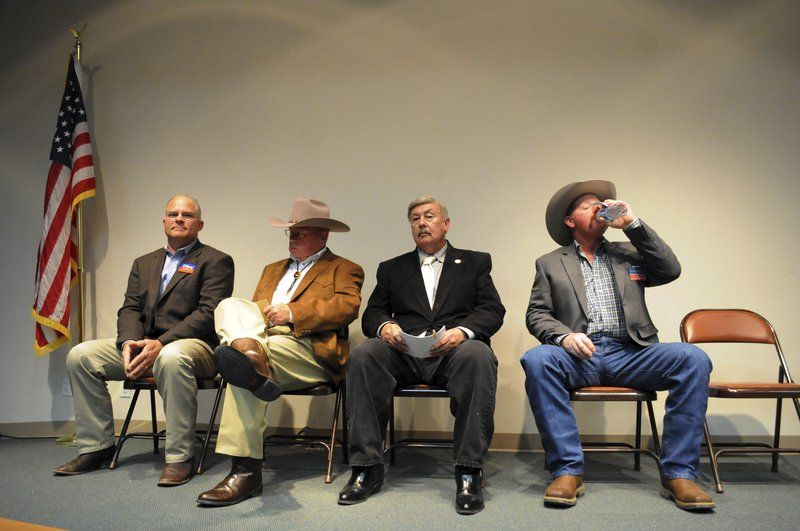 Candidates get together to talk about issues