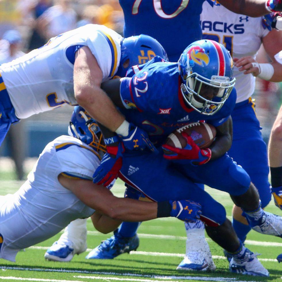 quality design 7c8f3 81b94 Kansas Jayhawks football uniforms – Uni-Tracker