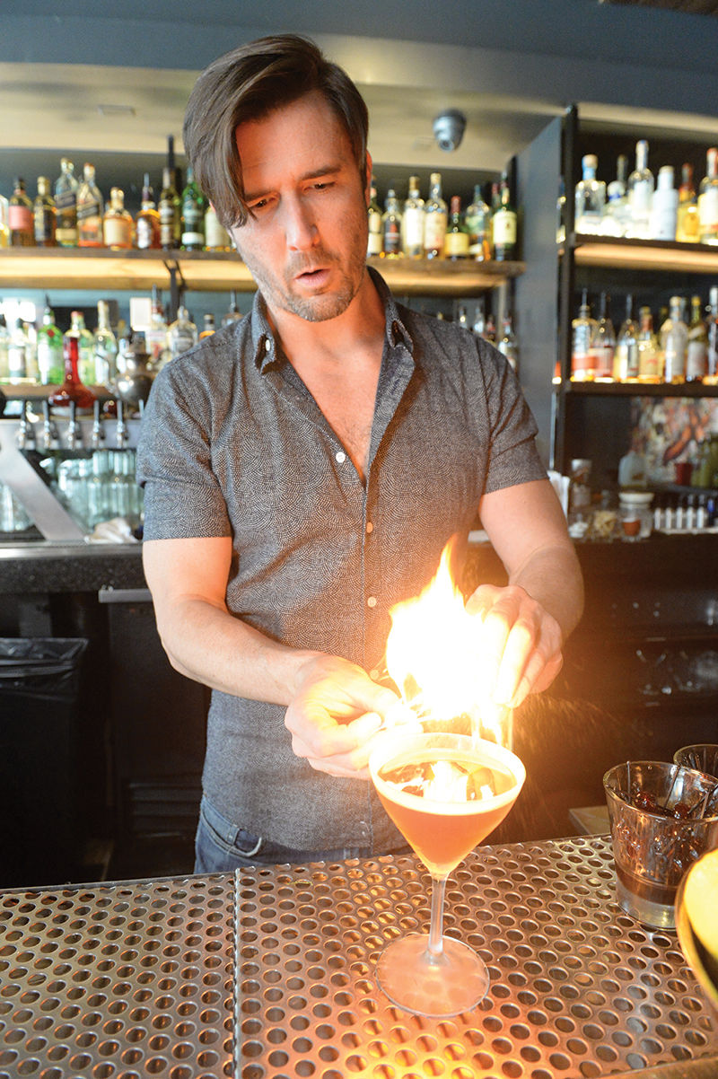 flames cocktail