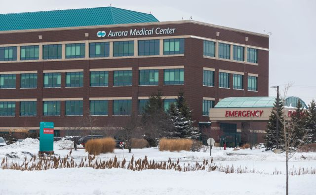 Aurora Medical Center in Grafton, AP photo