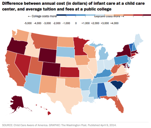 Report: Wisconsin child care more costly than college | Living in Madison |  madison.com