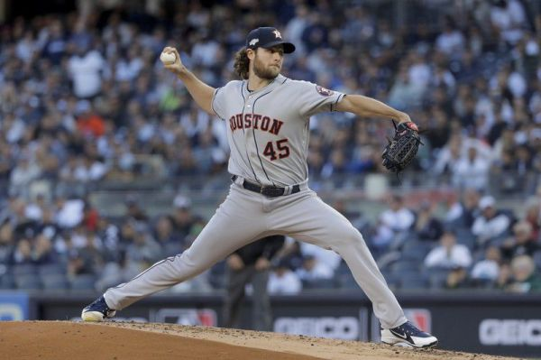 MLB: Cole pitches Astros past Yankees for 2-1 ALCS lead