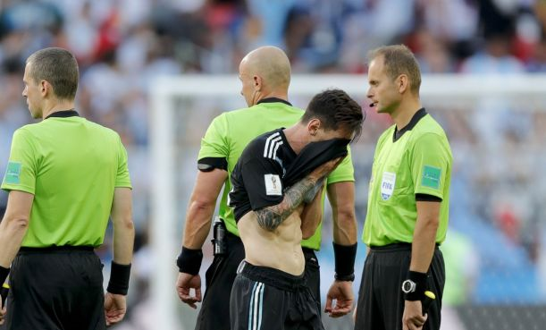 Image result for Messi, 30, had a penalty saved in Argentina's 1-1 draw with Iceland in their opening game in Russia.