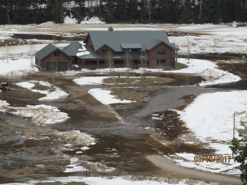 Big Hole Ice Jams Cause Flooding In Yards Driveways Natural Resources