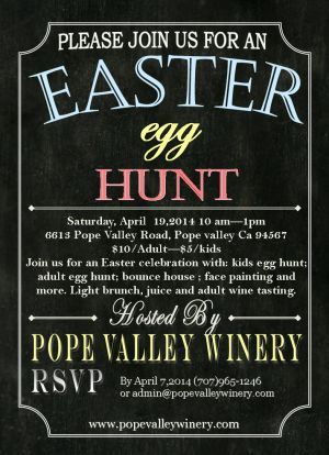 Pope Valley Winer Easter Egg Hunt