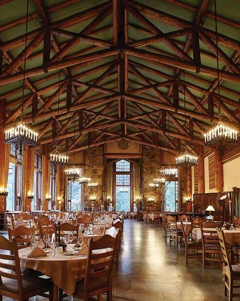 Yosemites Ahwahnee Hotel Hosts Winter Culinary Gatherings