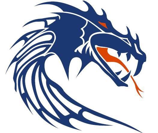 School Logo Creek High Silver