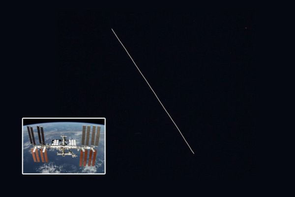 International Space Station visible over northwest Indiana this week