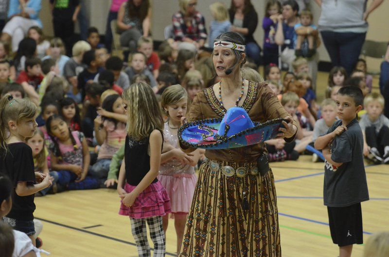 Artist brings dance, diversity to students of Kennedy Elementary