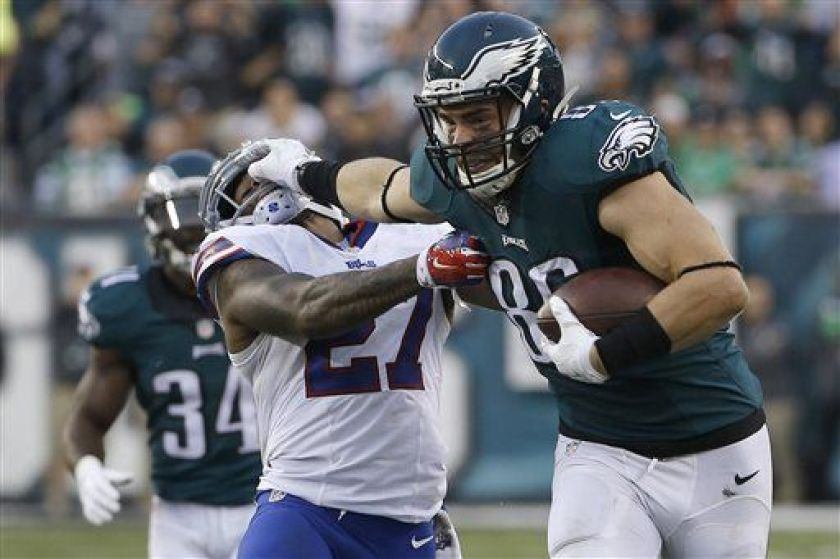 Image result for zach ertz buffalo bills