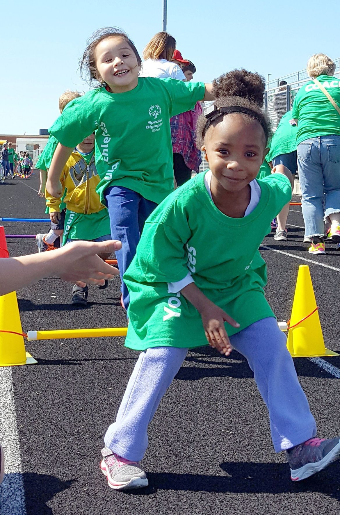 Students Build Skills Friendships At Special Olympics