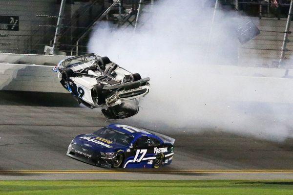 See it: NASCAR driver Newman survives stunning crash
