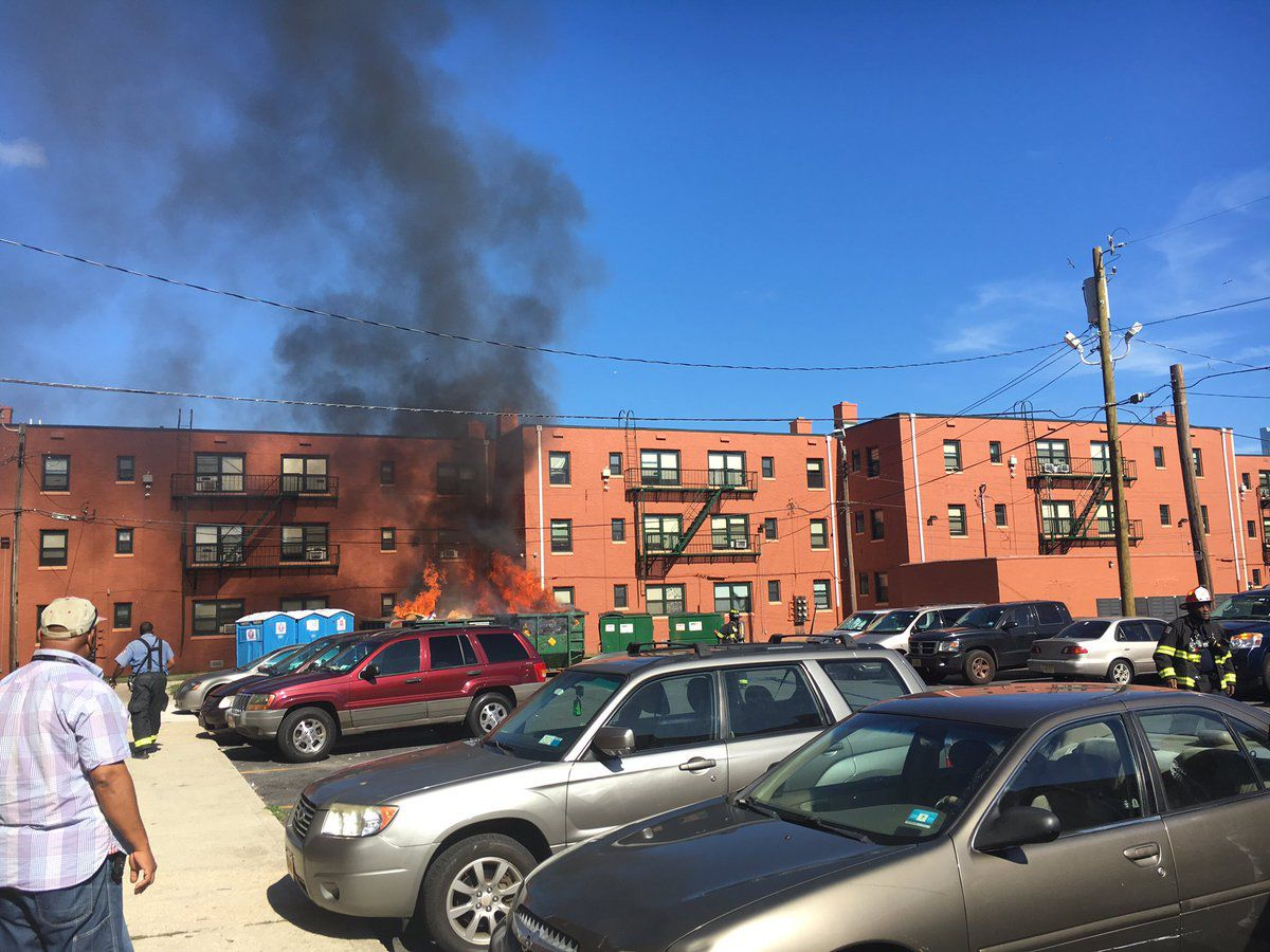 Atlantic City Fire Department Responds To Multiple Fires