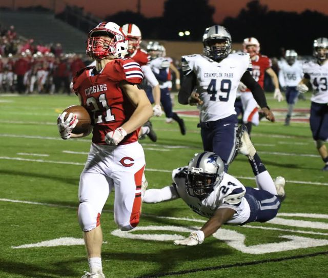 Football Too Many Turnovers As Cougars Lose To Rebels 24 21