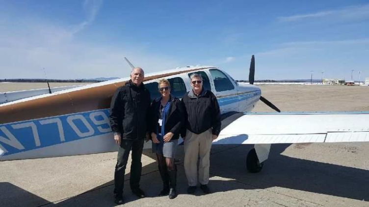 Pilots' generosity flies local woman home