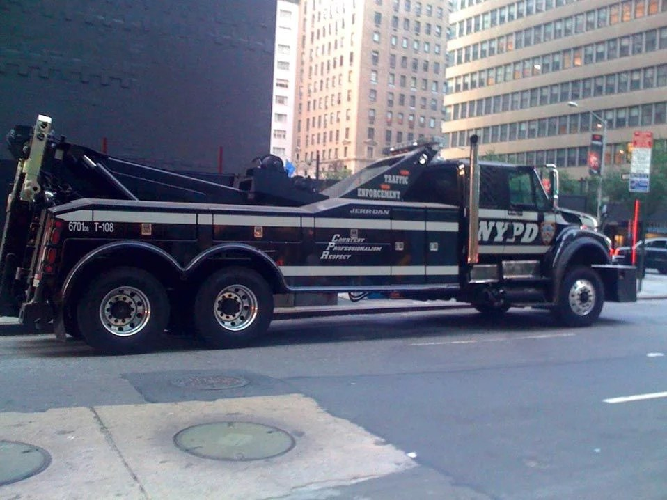 NYPD off the hook for tow truck funds 1
