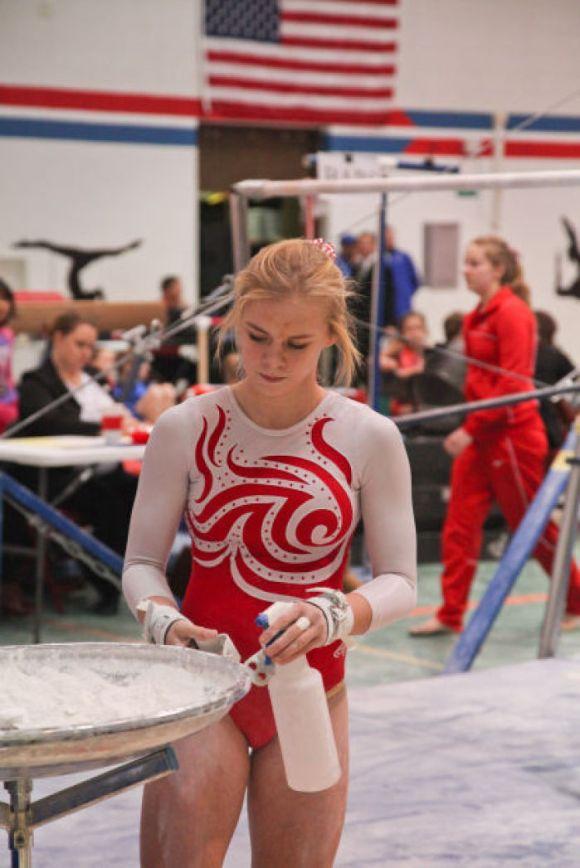 High School Gymnastics: Chelsey Christensen leads Central ...