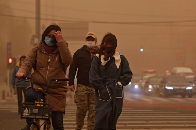 Photos: China experiencing worst sandstorm in a decade | World |  siouxcityjournal.com