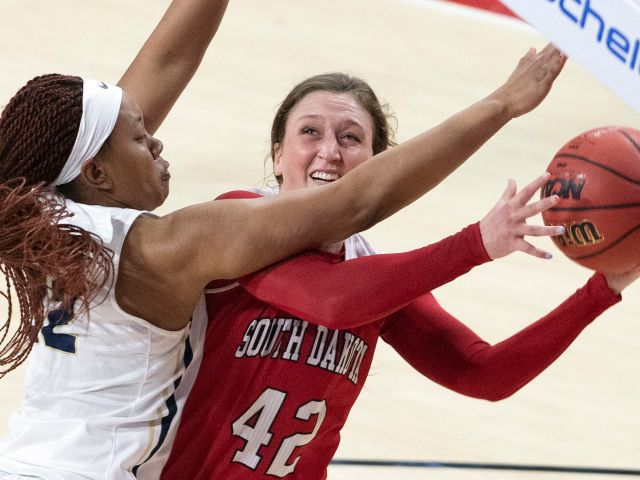 Women S College Basketball South Dakota Wins First Home Game In 48 Days College Sports Siouxcityjournal Com