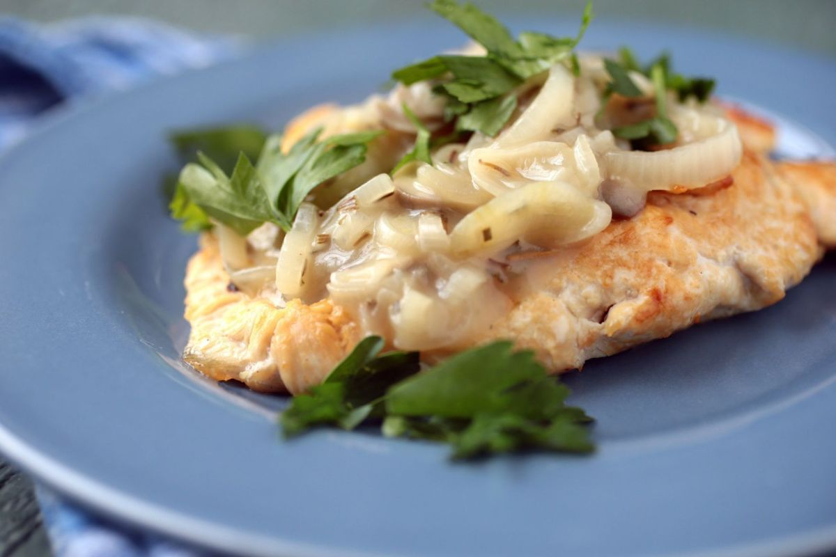 French Recipes Chicken Mushrooms