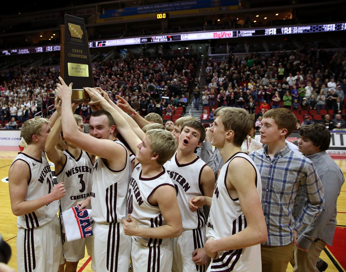 Western Christian Repeats As State Champ Basketball