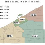 Map Of Erie County Shows Covid 19 Cases By Area News Thecorryjournal Com