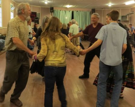 Image result for Contra Dance at Sixes Grange on July 28