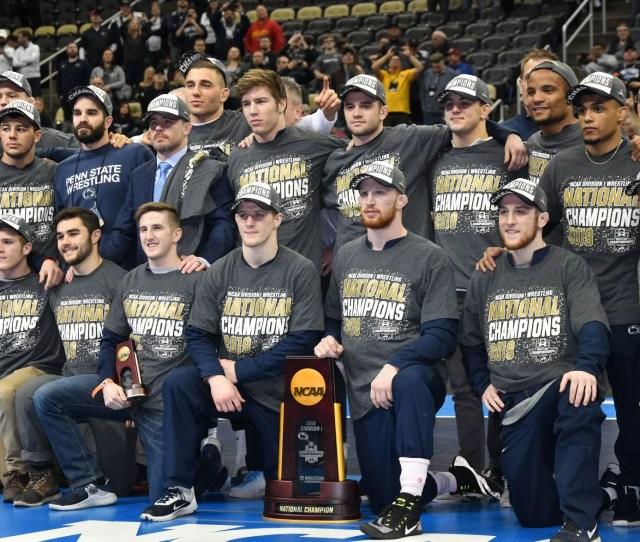 Penn State Wins Ncaa Title